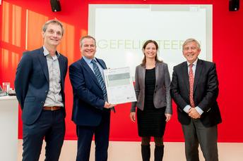 Duurzaamheidscertificaat na energielabelstijging naar A