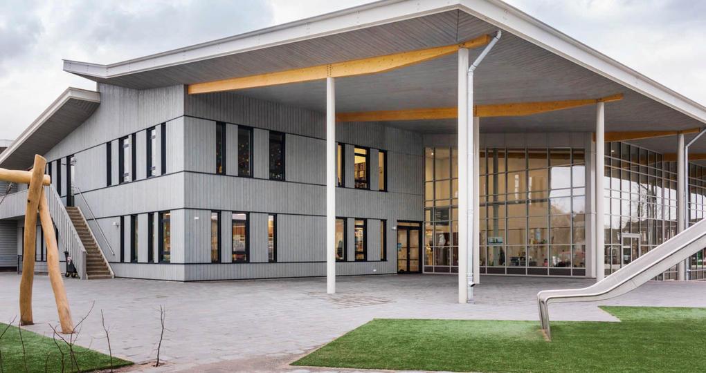 Duurzaamste school Nederland wordt verwarmd door ijskelder