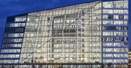 Duurzaamste kantoorgebouw staat in Amsterdam