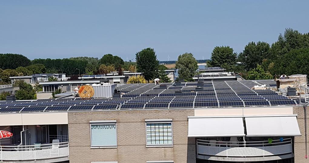 Duurzame energie voor appartementencomplex Zeewolde