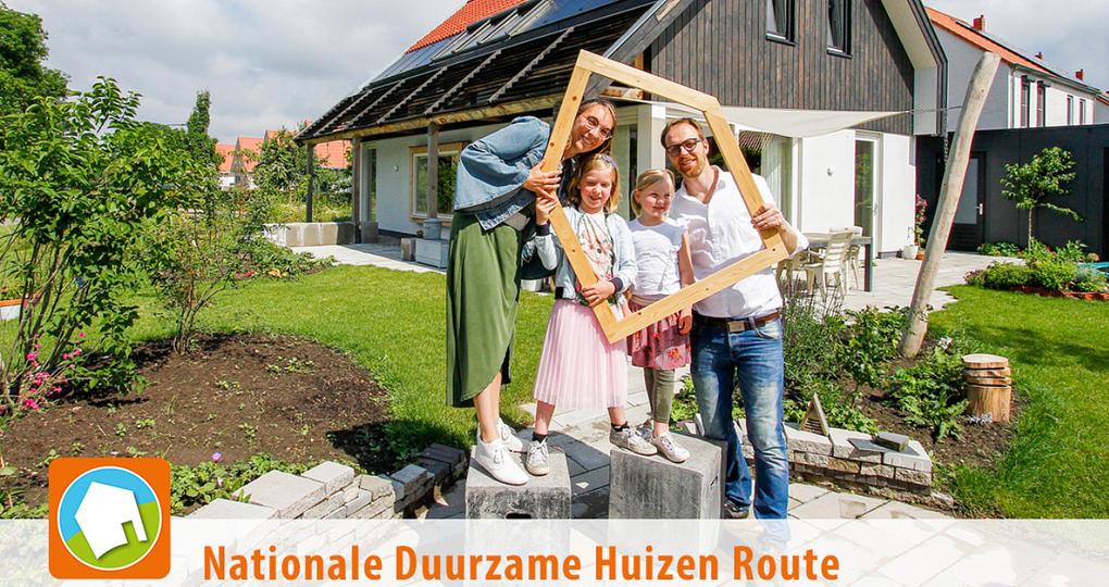 Duurzame huizen zetten deuren wagenwijd open