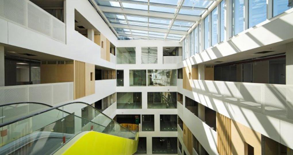 Duurzame nieuwbouw Hogeschool Utrecht klaar voor nieuwe studiejaar