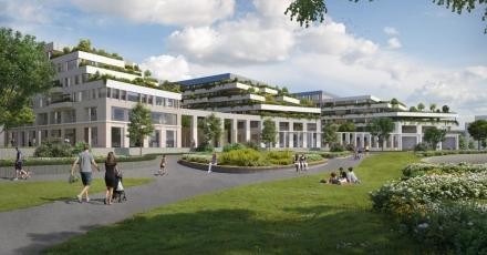 Duurzame stadswoningen en appartementen in Leidsche Rijn Centrum