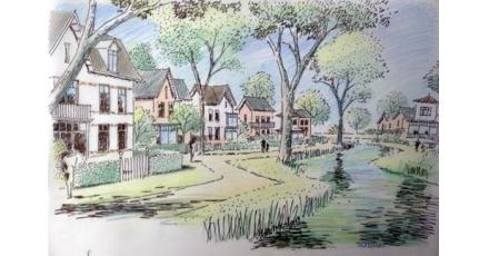 Duurzame gebiedsontwikkeling in Overveen
