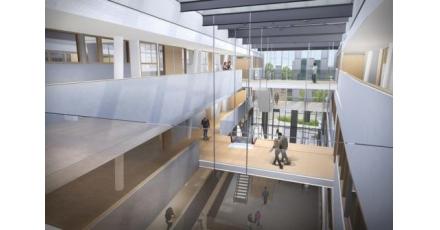 Nieuwbouw Hogeschool Arnhem Nijmegen volledig in led