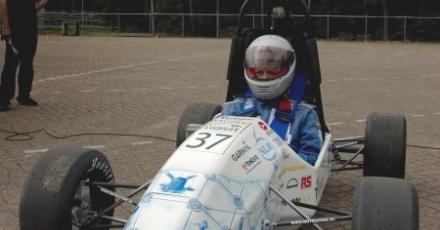 Duurzame race-auto