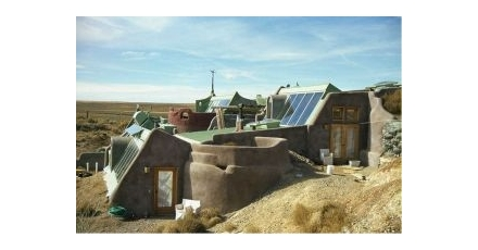 Earthship in Zwolle