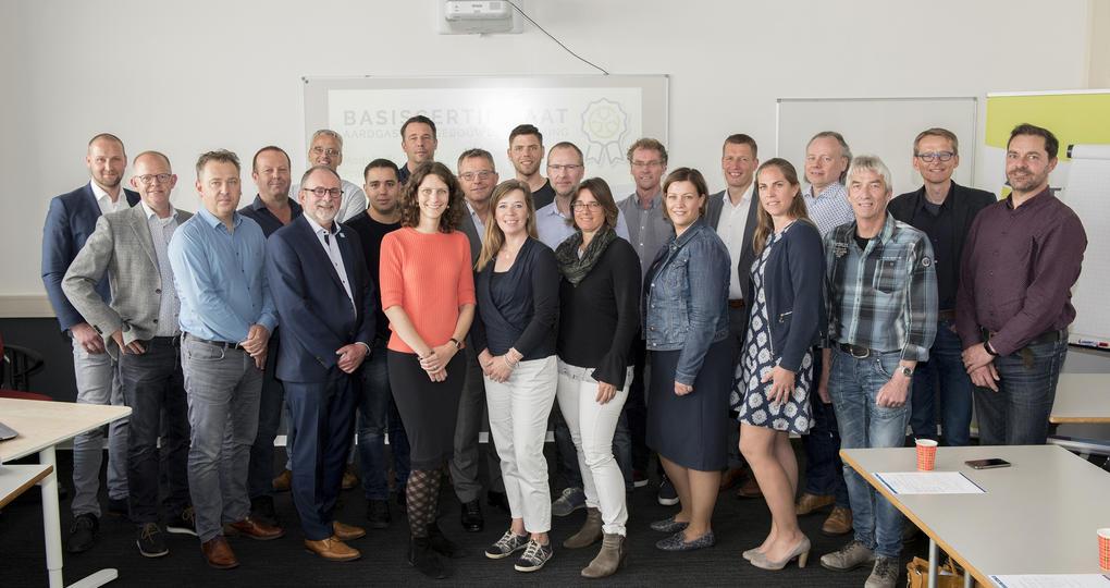 Eerste certificaten uitgereikt voor uitverkochte opleiding aardgasvrije gebouwen en gebieden