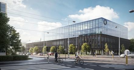 Eerste Edge-gebouw komt bij Olympisch Stadion