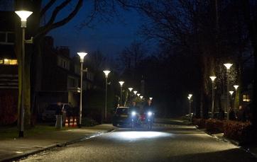 Energiebesparing dankzij 'connected' straatverlichtingssysteem