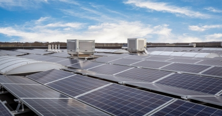 Energiebesparing in logistieke en distributiesector
