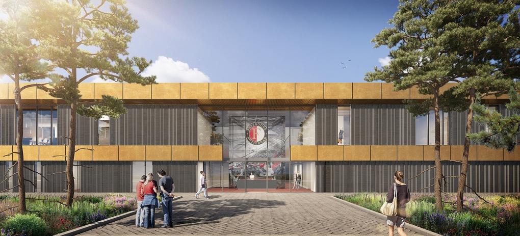 Energieneutrale nieuwbouw Feyenoord Academy en Sportclub Feyenoord