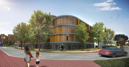 Energieneutrale parkeergarage bij treinstation Driebergen-Zeist