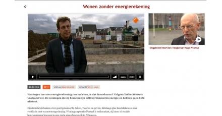 EenVandaag: 'Energienotanul-woningen zijn de toekomst'