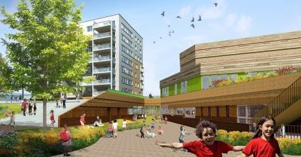 Energiezuinig kindcentrum in RijswijkBuiten