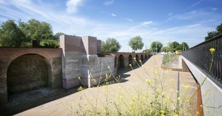 Energiezuinige Bossche parkeergarage 14 meter onder stadsmuur