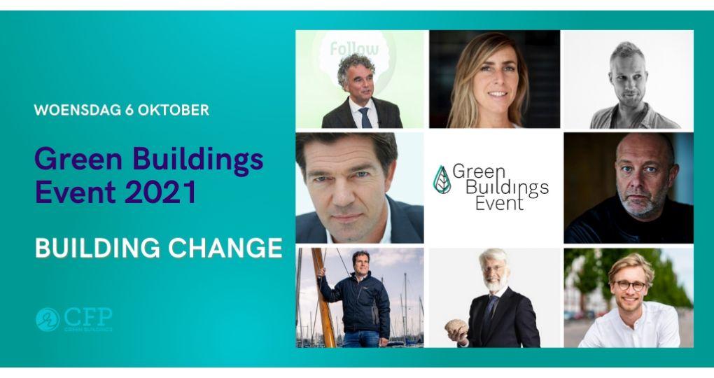 Erik Scherder en Mark van Baal op het Green Buildings Congres 2021