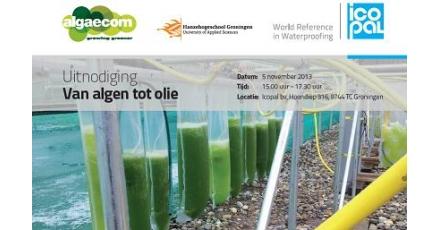 Evenement zoomde in op potentieel algen als grondstof