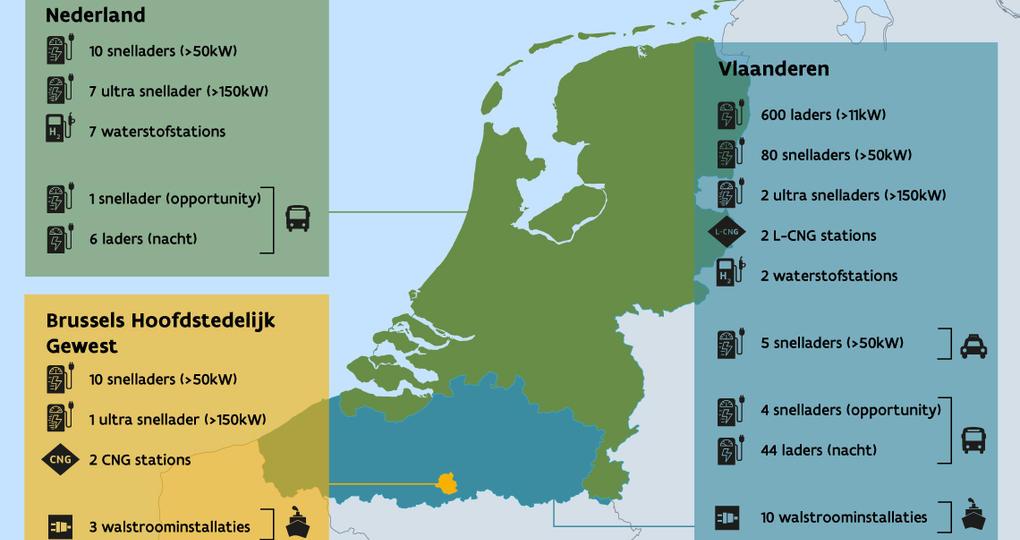 Extra laadpunten Nederland voor duurzaam vervoer