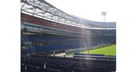 Feyenoord-fans wekken stroom op