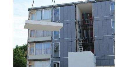 Flats in Kanaleneiland Zuid aangepakt
