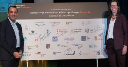 Geen gasaansluiting meer in nieuwe woningen regio Amsterdam