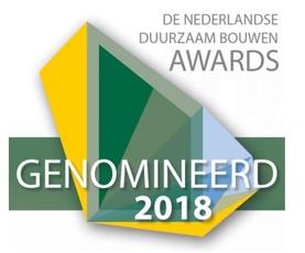 Genomineerden Duurzaam Bouwen Awards bekend