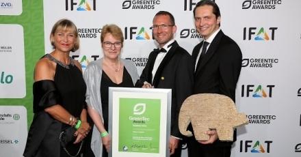 Unieke gevelisolatie wint bij GreenTec Awards 2016