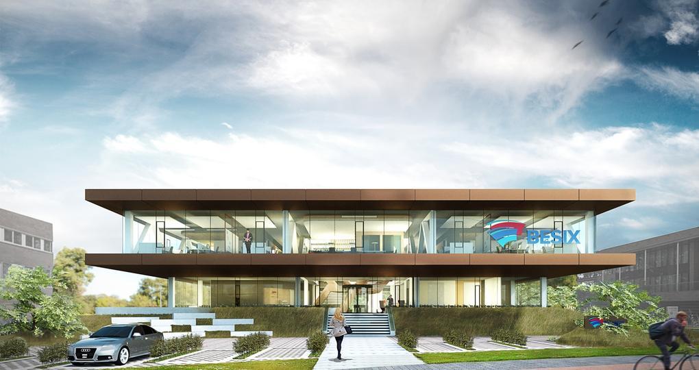 Gezonde werkomgeving hoogste prioriteit voor nieuwbouw BESIX Dordrecht