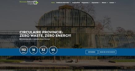 Gloednieuwe website 'Duurzaam Gebouwd Congres' live!