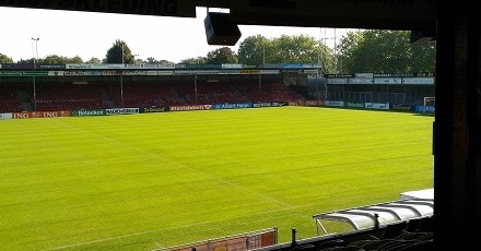 Go Ahead Eagles wil stadion uitbreiden en verduurzamen