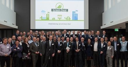Green Deal Circulaire Gebouwen uit startblokken