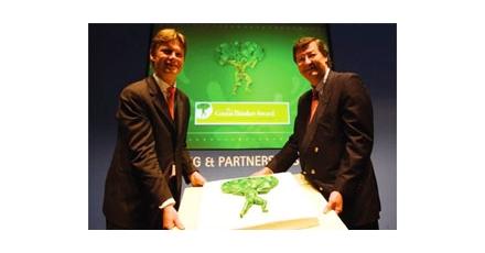 Green Thinker Award voor OVG Projectontwikkeling
