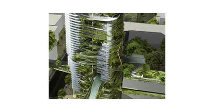 Groenten verbouwen in de lucht