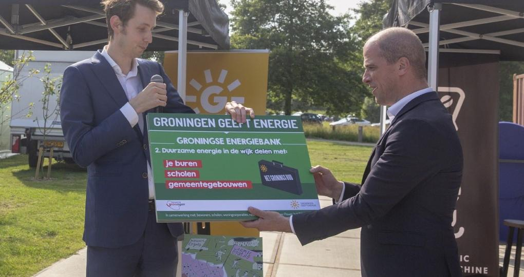 Groningse Energiebank stap naar gasvrij Nederland