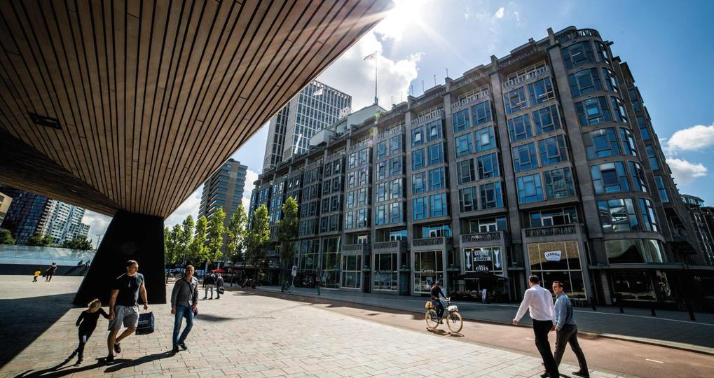 Groot Handelsgebouw wordt 1,5 meter-proof met behulp van onafhankelijk keurmerk