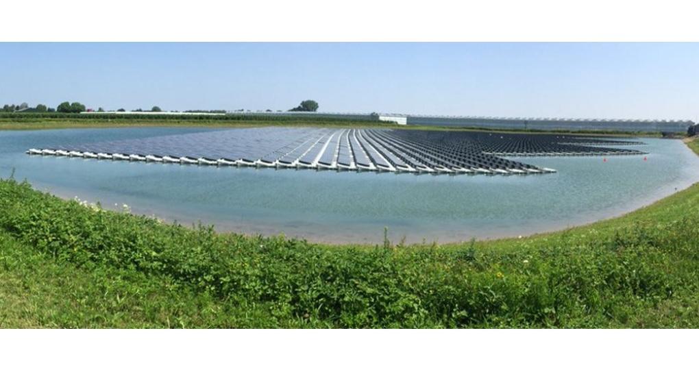 Grootste drijvend zonnepark van Europa in Lingewaard