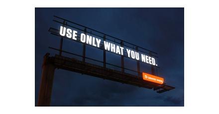 Handige billboard
