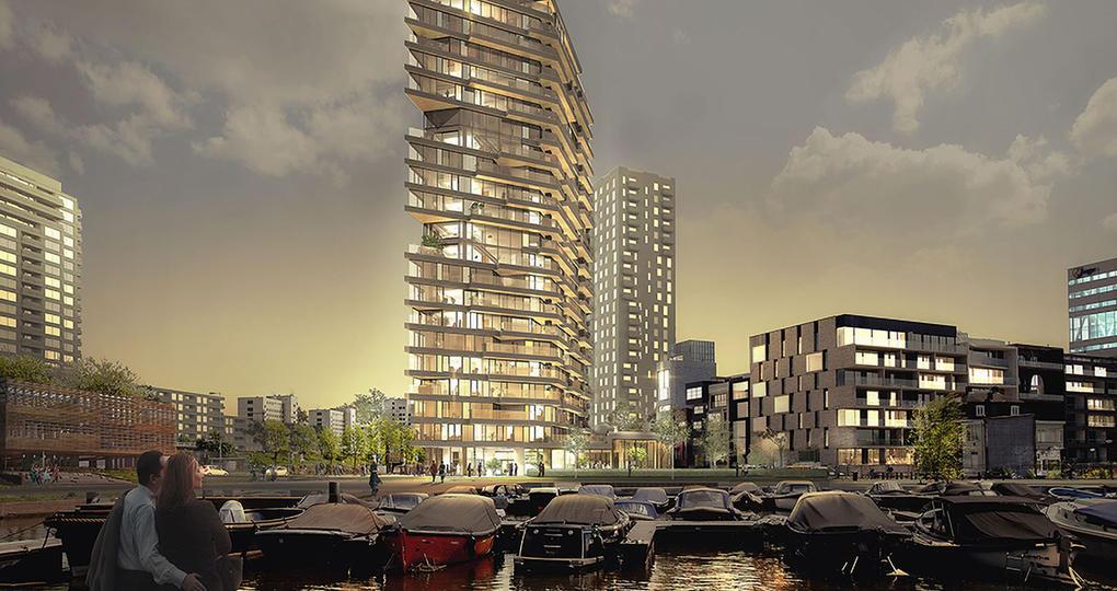 HAUT: duurzaam wonen aan de Amstel