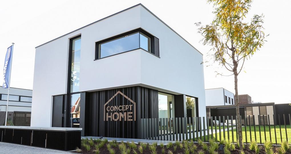 Huis van de toekomst staat in Waregem
