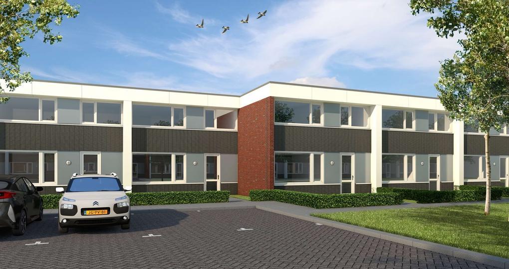 Huurwoningen in Emmerhout gerenoveerd naar nul-op-de-meter