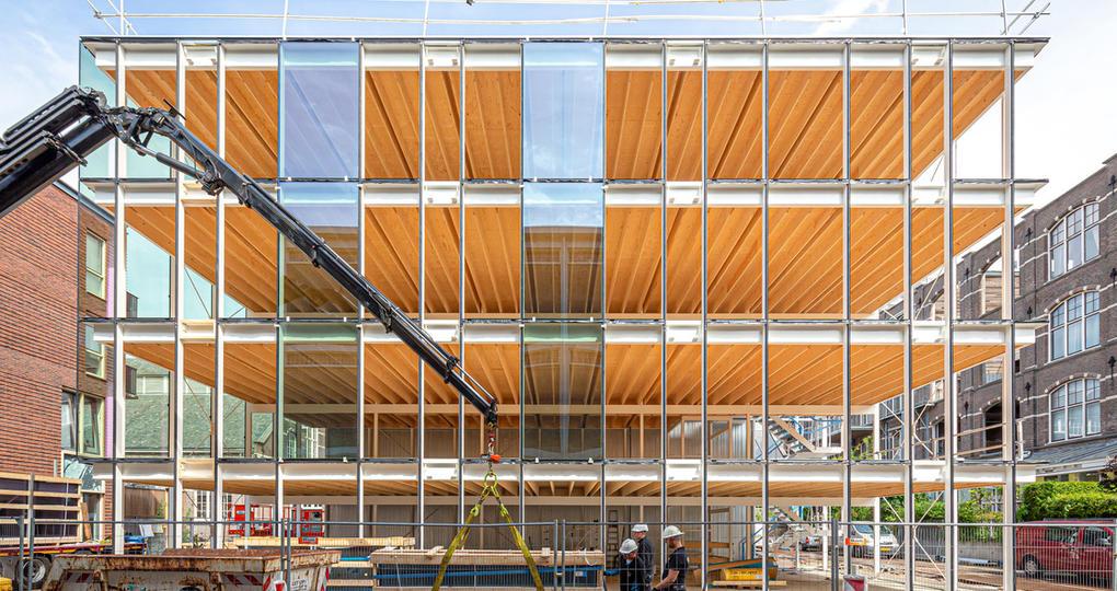 Hybride constructies: de toekomst van circulair ontwerpen en bouwen?