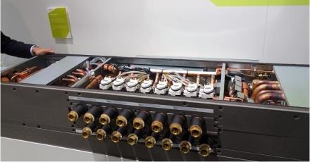 Hybride VRF houdt koudemiddel buiten