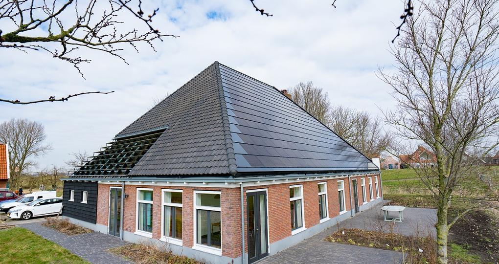Indaksysteem zorgt voor duurzame energie stolpboerderij