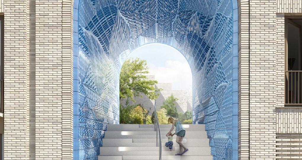 Industrialisatie met Delfts blauw uit 3D-printer