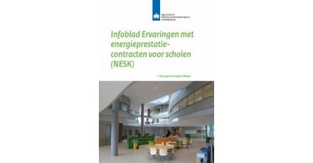 Infoblad Ervaringen met energieprestatiecontracten voor scholen