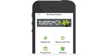 Informatie binnen handbereik met app MyBuildingHolland