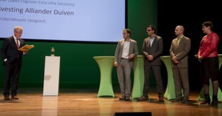 Ingenieurs- en architectenbureau wint Gouden Kikker Award 2015
