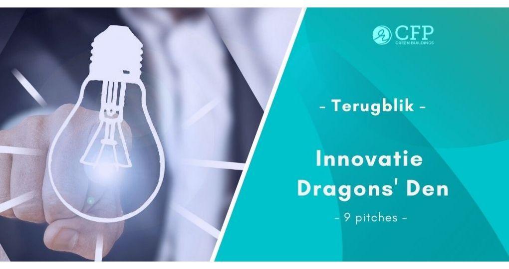 Innovatie Dragons Den 2.0: 'Trendbreuk inzetten kan alleen met innovaties'