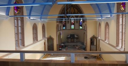 Innovatief systeem met hoge isolatiewaarde in Sint Clemenskerk
